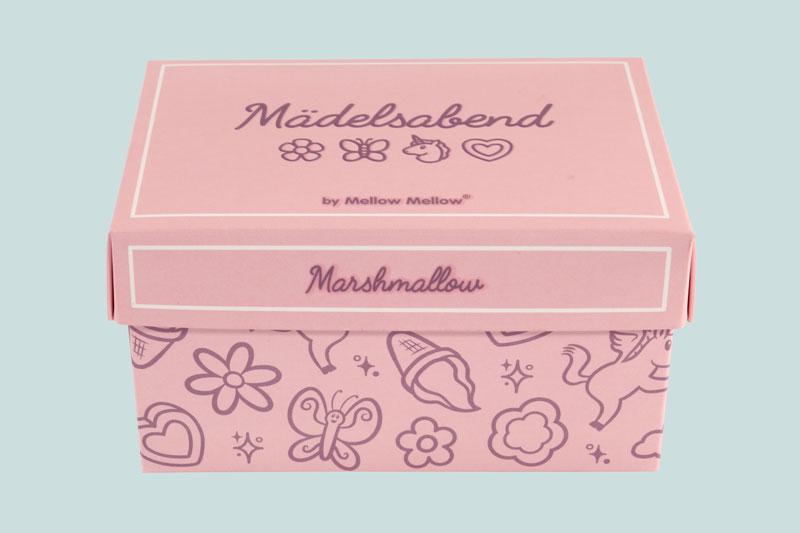 Mädelsabend Mashmallow rosa